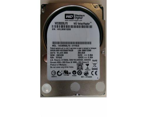 WD 300GB 10.000rpm SATA 3Gb/s SFF (2,5 inch)