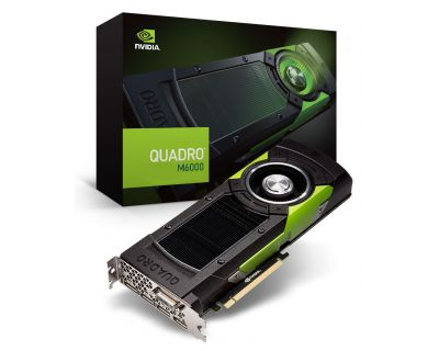NVIDIA Quadro M6000 12GB PCI-E 3.0 x16 4x DisplayPort