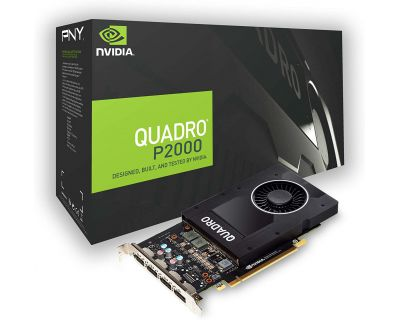 NVIDIA Quadro P2000 5GB GDDR5 PCI-E x16 4x Display Port