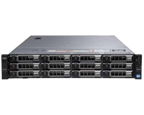 Dell R720XD / 2x E5-2670 2,6GHz 8 Core / 64GB RAM / H710