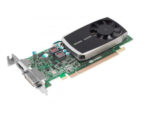 Nvidia Quadro 600 1GB PCI-E met 1 x DVI 1x DP
