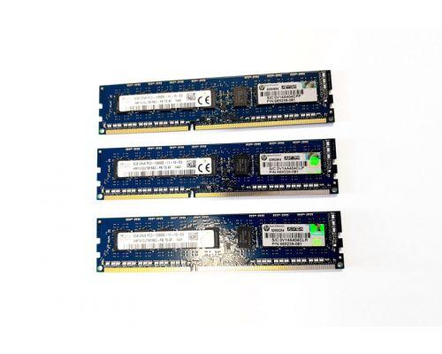 8GB DDR3 2Rx8 PC3-12800E Memory