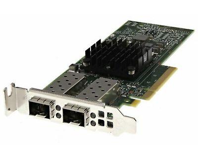 Dell Broadcom 57412 2x 10Gbit SFP+ PCI-e X8 LP P/N: 0YR0VV Netwerkkaart