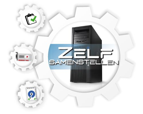 HP Z440 Workstation, zelf te configureren!