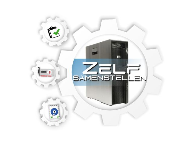HP Z600 Workstation, zelf te configureren! - Refurbished HP Z600 - Creo  Server