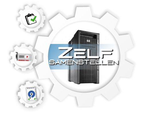 HP Z800 Workstation, zelf te configureren!