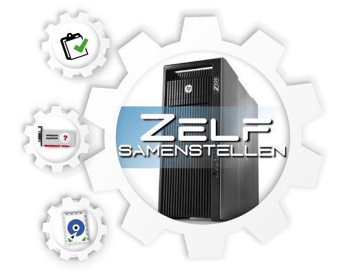 HP Z820 Workstation, zelf te configureren!