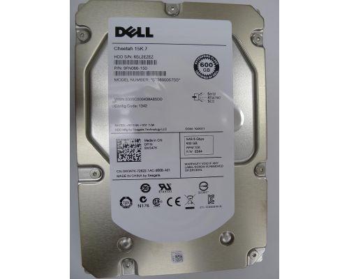 Dell 600GB 15K SAS 6Gb/s LFF (3,5 inch) P/N: 0W347K