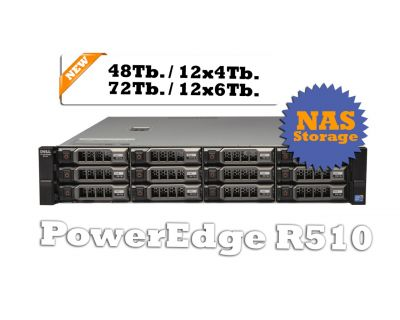 DELL P-Edge R510 72TB Storage - NAS Server