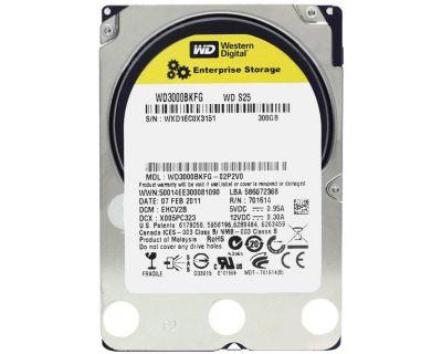 WD 300GB 10.000rpm SAS 6Gb/s SFF (2.5 inch)