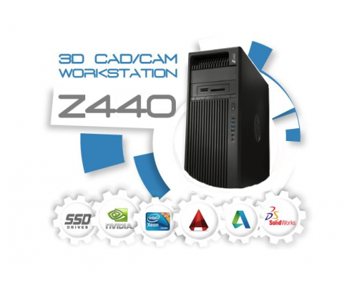 HP Z440 3D CAD/CAM  Systeem