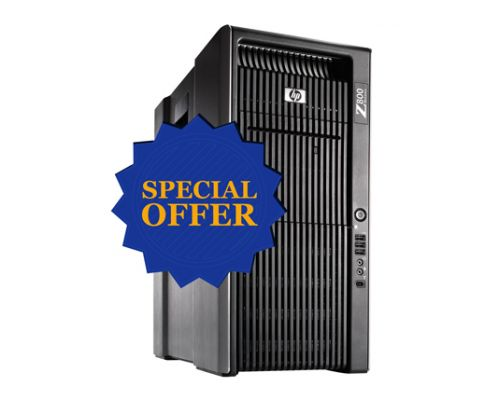 HP Z800/ 2x X5670 2,93GHz Six Core / 48GB RAM