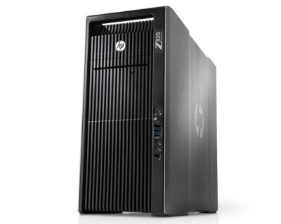 HP Z820 / 2x E5-2690v2 3,0GHz 20 Core / 128GB RAM / SSD 960GB