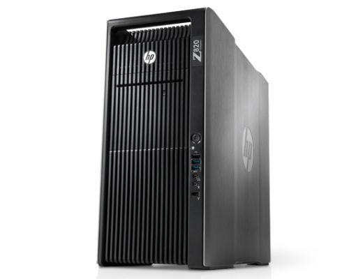 HP Z820 / 2x E5-2643 3,3GHz 4 Core / 32GB RAM / 512GB SSD