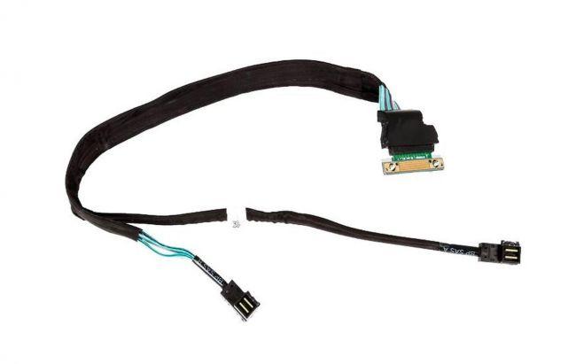 Dell R630 8xSFF Backplane - DUAL SAS Mini Mono Kabel 0K43RY